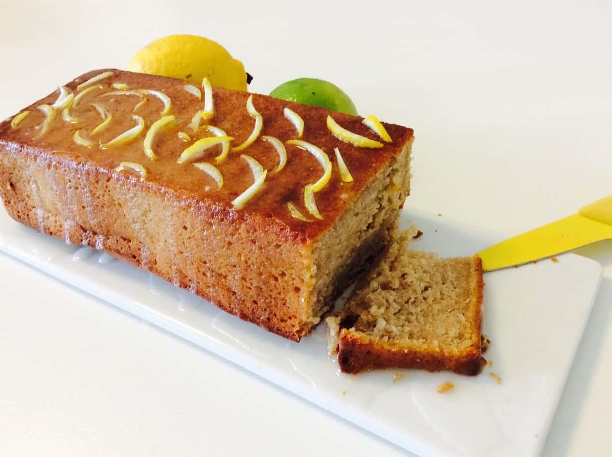 עוגה בטעם מרציפן לימוני