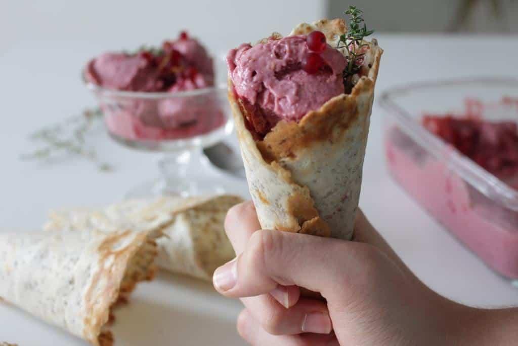 גביעי גלידה וגלידה מיוחדת במינה, טבעונים, תוצרת בית