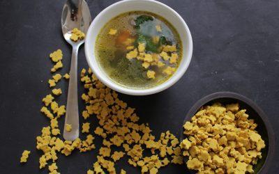 שקדי מרק ביתיים –  קראנצ'ים ומזינים, שיהיו רק תירוץ