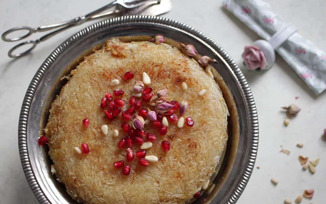 כנאפה טבעונית – נטולת גלוטן, ללא סויה, עם גבינת מוצרלה ביתית