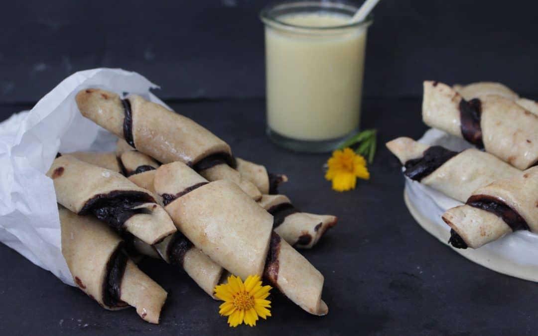 רוגלך טבעוני – מהיר הכנה, מקמח כוסמין מלא, ללא שמרים, פצצת חלבון ופינוק