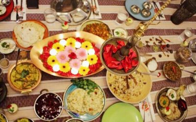 אוכל הודי, טעמים צבעוניים, חגיגה הודית