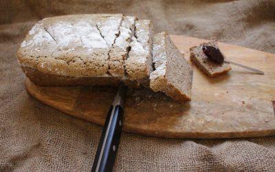 לחם מחמצת – שאור מקמח שיפון מלא