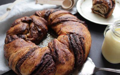 עוגת קראנץ' שוקולד טבעונית – ללא שמרים!