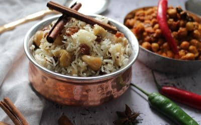 אורז איורוודי – עשיר בטעמים, פשוט וחגיגי
