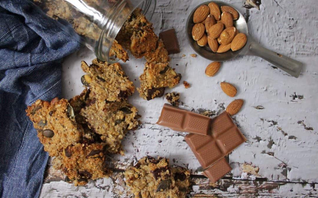 עוגיות שיבולת שועל וגודיז, נטולות גלוטן, מהירות הכנה, טבעוניות ומטריפות