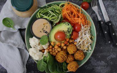 בודהה בול – קערת בריאות, עם כל מה שטוב שיהיה בארוחה