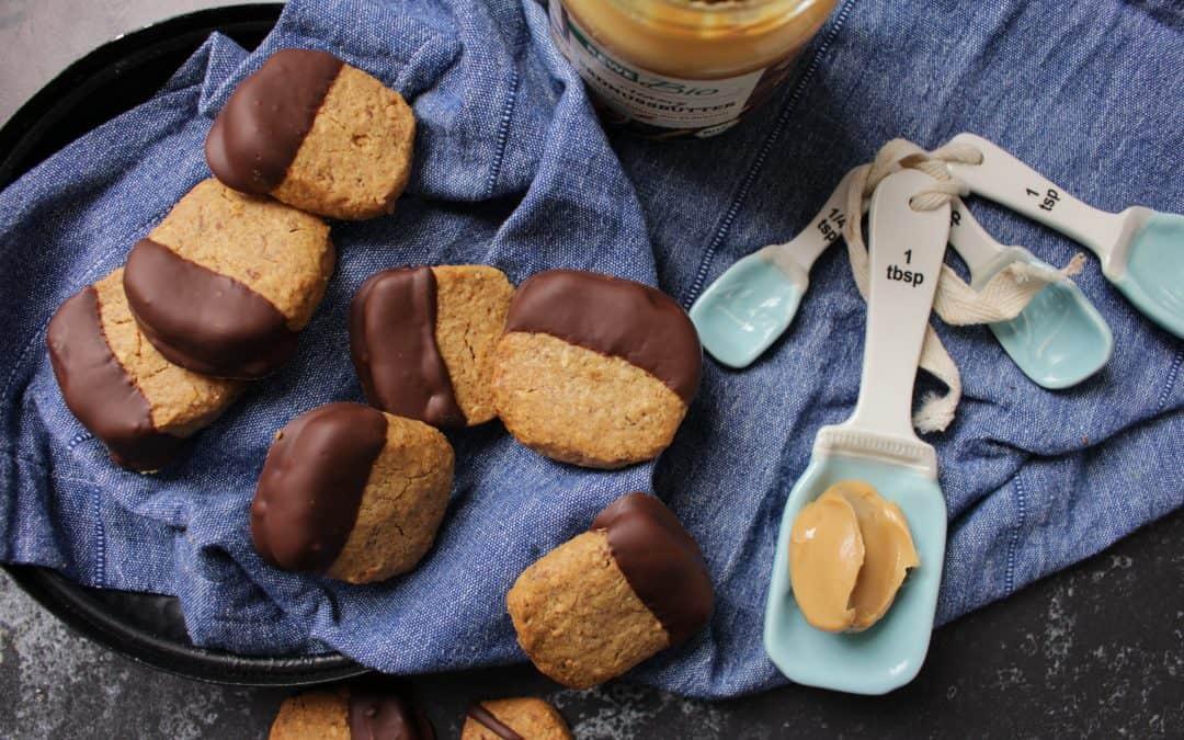 עוגיות בוטנים טבעוניות לפסח, ללא גלוטן