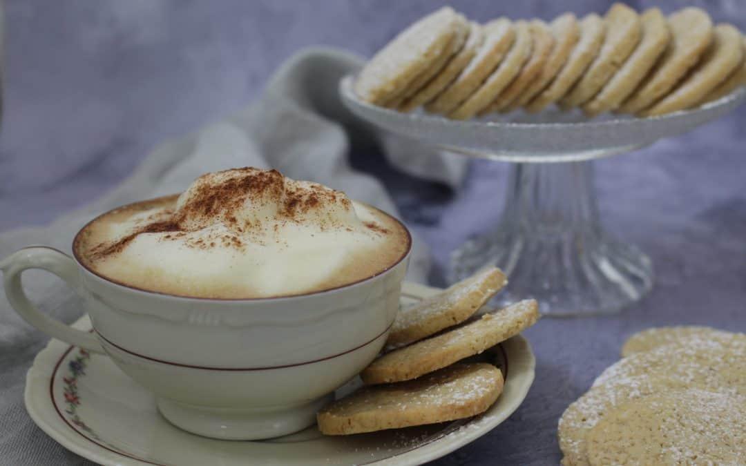 עוגיות תה, דקיקות, פריכות, טבעוניות, מתובלות הל וג'ינג'ר