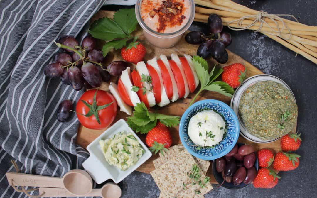 מגש גבינות טבעוניות – חגיגת שבועות טבעונית