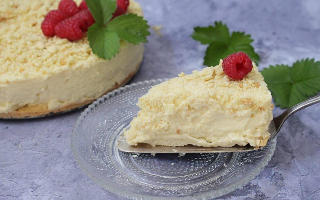 עוגת גבינה – פירורים, טבעונית, מ ט ר י פ ה !!!! אופציה גם ללא גלוטן