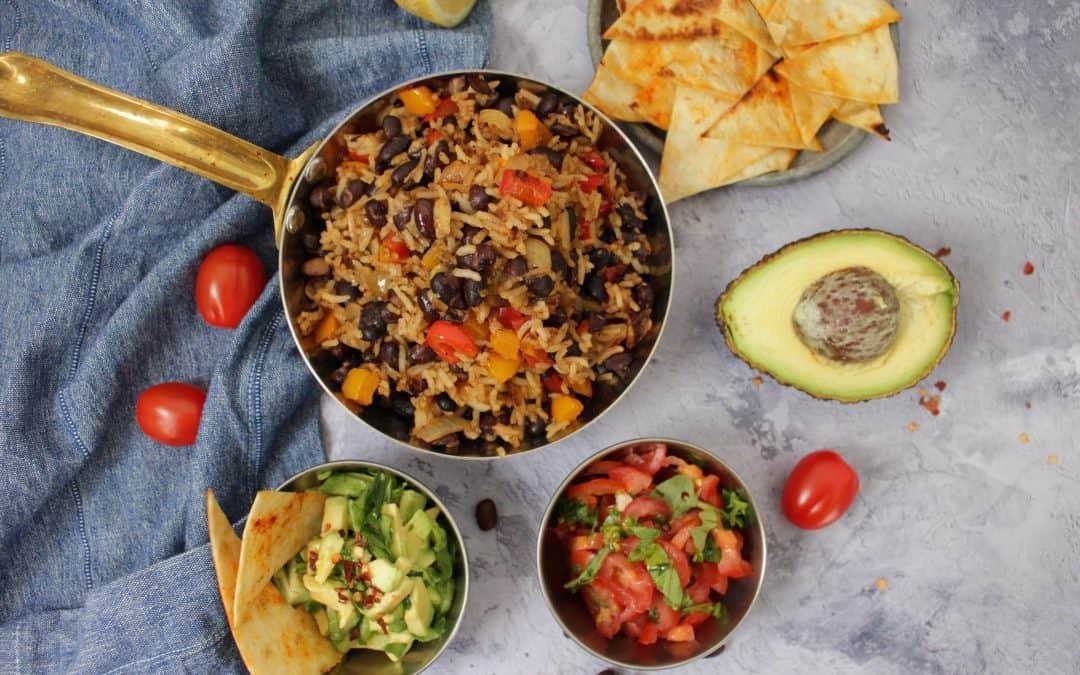 אורז ושעועית שחורה – גאיו פינטו – המג'דרה הקוסטה ריקנית