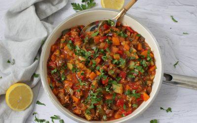גיבץ' – תבשיל ירקות, פשוט, טעים, לצד, מעל, עם, טעים!