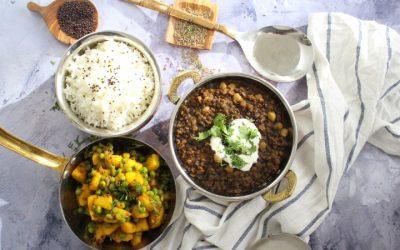 דאל הודי –  מקאני, טבעוני ועוד פינוקים, ארוחה הודית פשוטה ומזינה