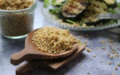 פרמז'ן – פתיתי גבינת פרמז'ן טבעונית