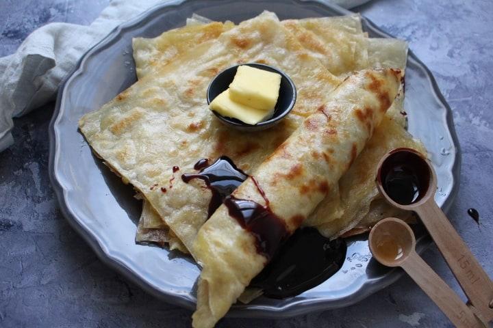 מופלטה – טבעונית, ללא גלוטן, עם מעט חמאה טבעונית
