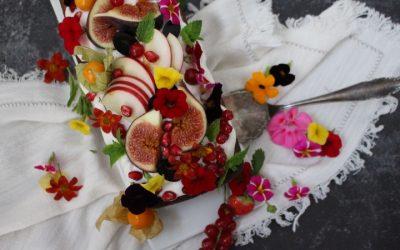 עוגת דבש – תפוחים – ג'ינג'ר ארומטית, טבעונית
