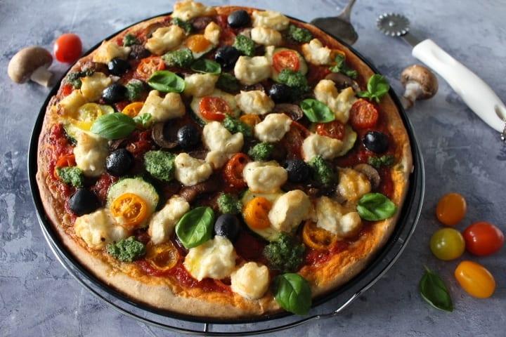 פיצה טבעונית – בריאה ומטריפה