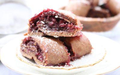 עוגיות מגולגלות בריאות, טעימות, טבעוניות, מקמח כוסמין מלא – ב 2 מילויים מטריפים