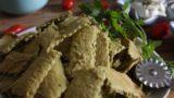 קרקרים מחומוס, טחינה ובטעם פלאפל, נטולי גלוטן