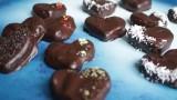 לבבות שוקולד ממולאים