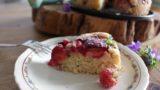 עוגת שזיפים, אגוזי לוז ותבלינים